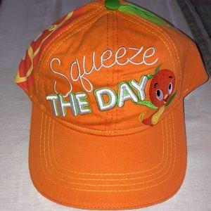 Disney Orange Bird Squeeze the Day cap NWT